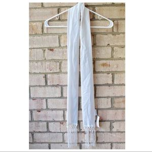 Icing White Scarf⛄️